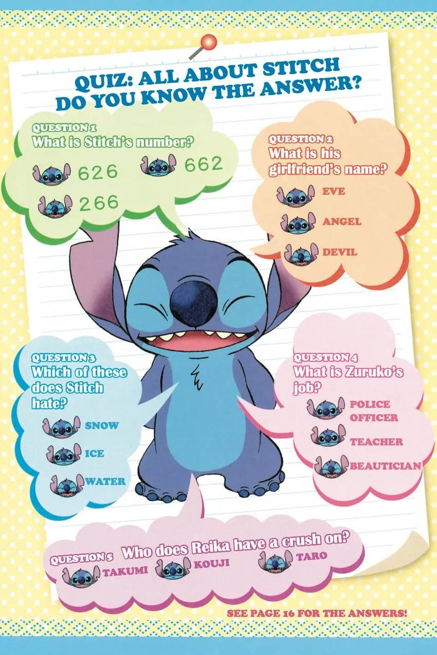 Stitch! — Diary for BFFs!