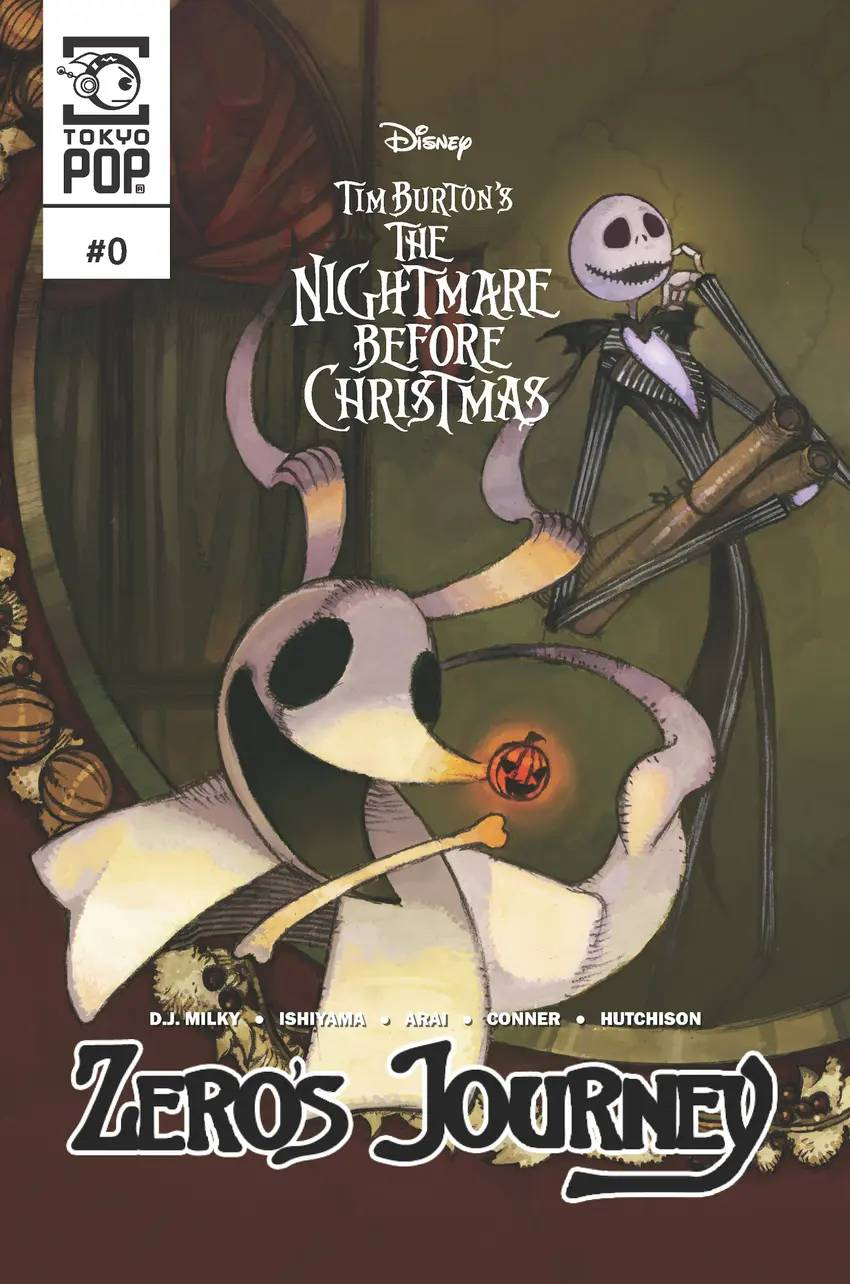 The Nightmare Before Christmas — Zero's Journey