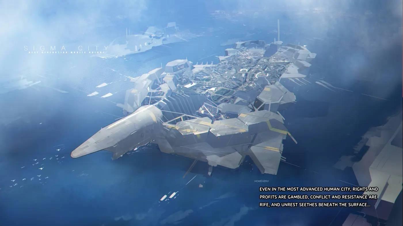 Armored Gull - The Exoskeleton Frame
