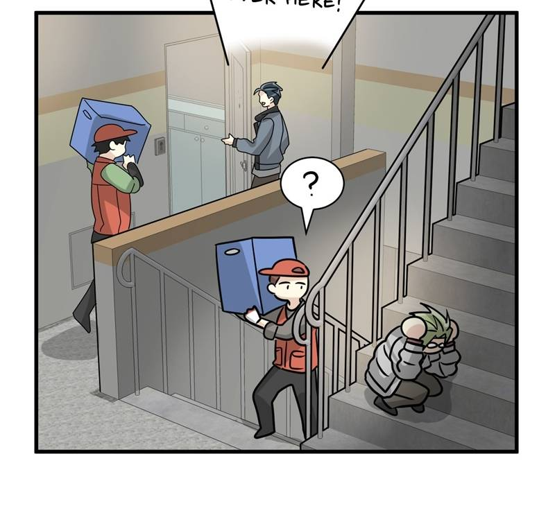 His Enemy Downstairs